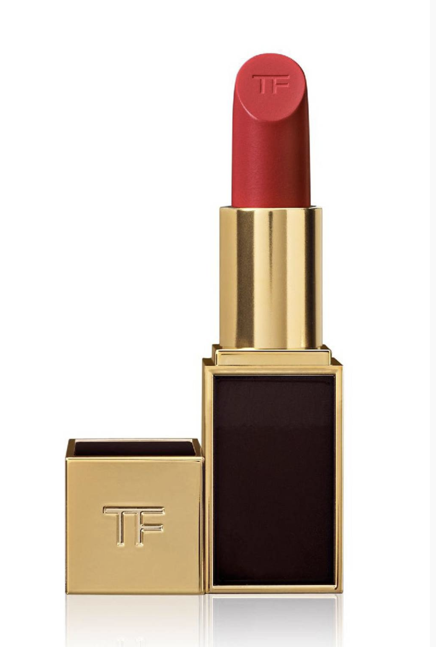 TOM FORD'S CREAMY RED SENSATION.  www.tomford.com