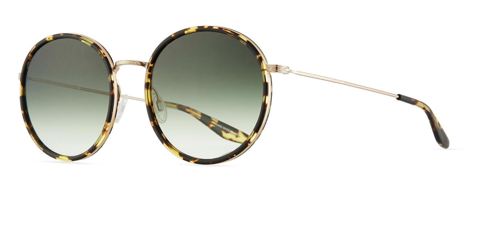 Barton Perreira Joplin Round Metal-Rim Sunglasses.