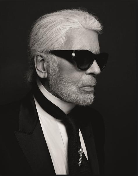 Designer Karl Lagerfeld - Photo courtesy of    Karl.com