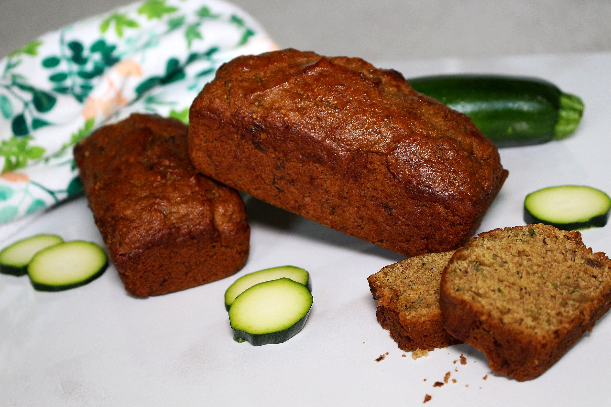 Vegan Zucchini Pineapple Bread.