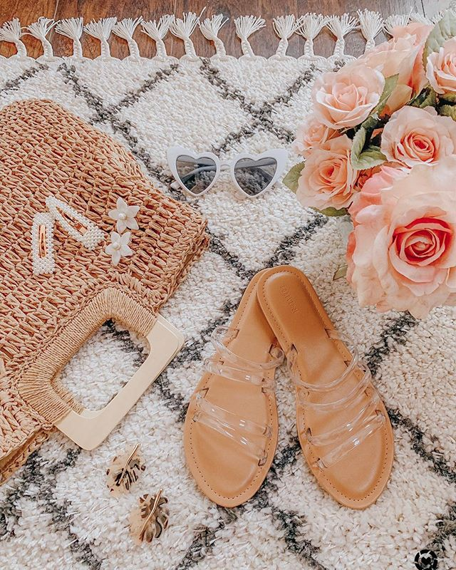 The cutest clear slides under $13. Shop before it sells out #tuesdayshoesday http://liketk.it/2BcMu #liketkit @liketoknow.it Follow me on the LIKEtoKNOW.it app to get the product details for this look and others #LTKspring #LTKhome #LTKunder50 #LTKshoecrush #LTKsalealert #LTKstyletip #LTKunder100 #LTKitbag . . . . . . . . . . #igdaily #styleinspo #blogger #bloggerstyle #tuesdayshoesday #details #shoesaddict #stylediaries #stylegoals #nordstrom #wovenbag #f21 #clearsandals #hairclips #baublebar earrings #homegoods