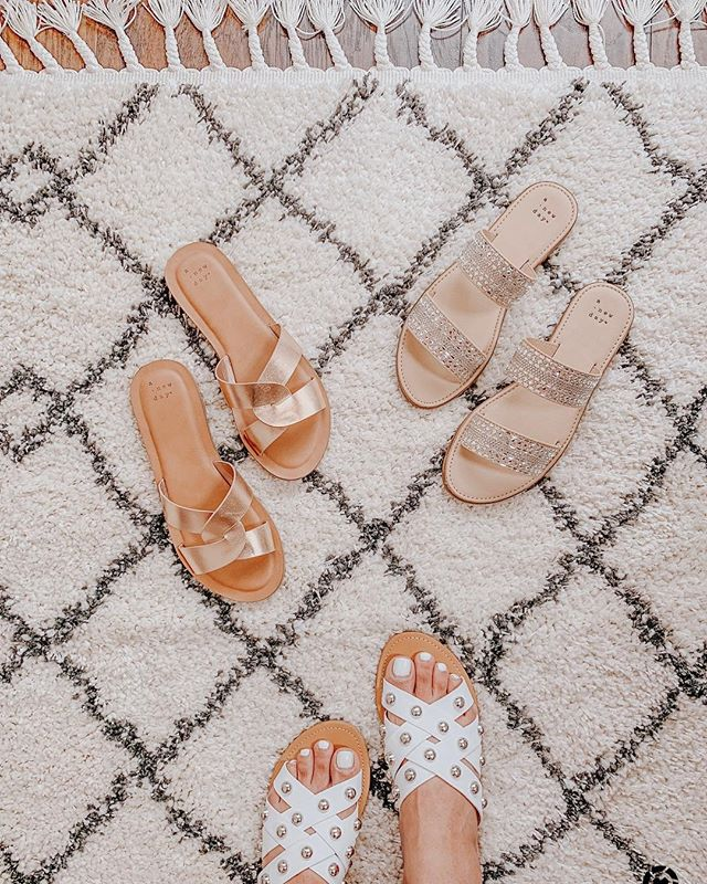 Cutest sandals that are currently BOGO 50% off http://liketk.it/2Bhd3 #liketkit @liketoknow.it Shop your screenshot of this pic with the LIKEtoKNOW.it app #LTKsalealert #LTKspring #LTKunder50 #LTKunder100 #LTKhome #LTKshoecrush . . . . . . . . . . . . . . #igdaily #salealert #target #slides #targetstyle #blogger #stylediaries #bloggerstyle #styleinspo #stylelookbook #stylefashion #springstyle #homegoods #f21 #f21xme #happyfriday