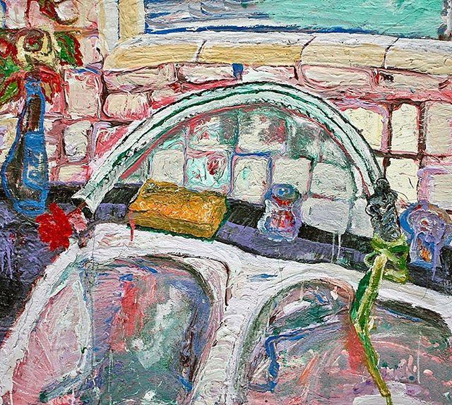 - Tania Jazz Alvarez Ghetto Love  2017 48x48in.  Tania Jazz Alvarez: Identity Politic-y May 12 - June 8, 2019  #art #makearteveryday #contemporaryart #modernart #painting #practice #visualart #artoftheday #artsdaily
