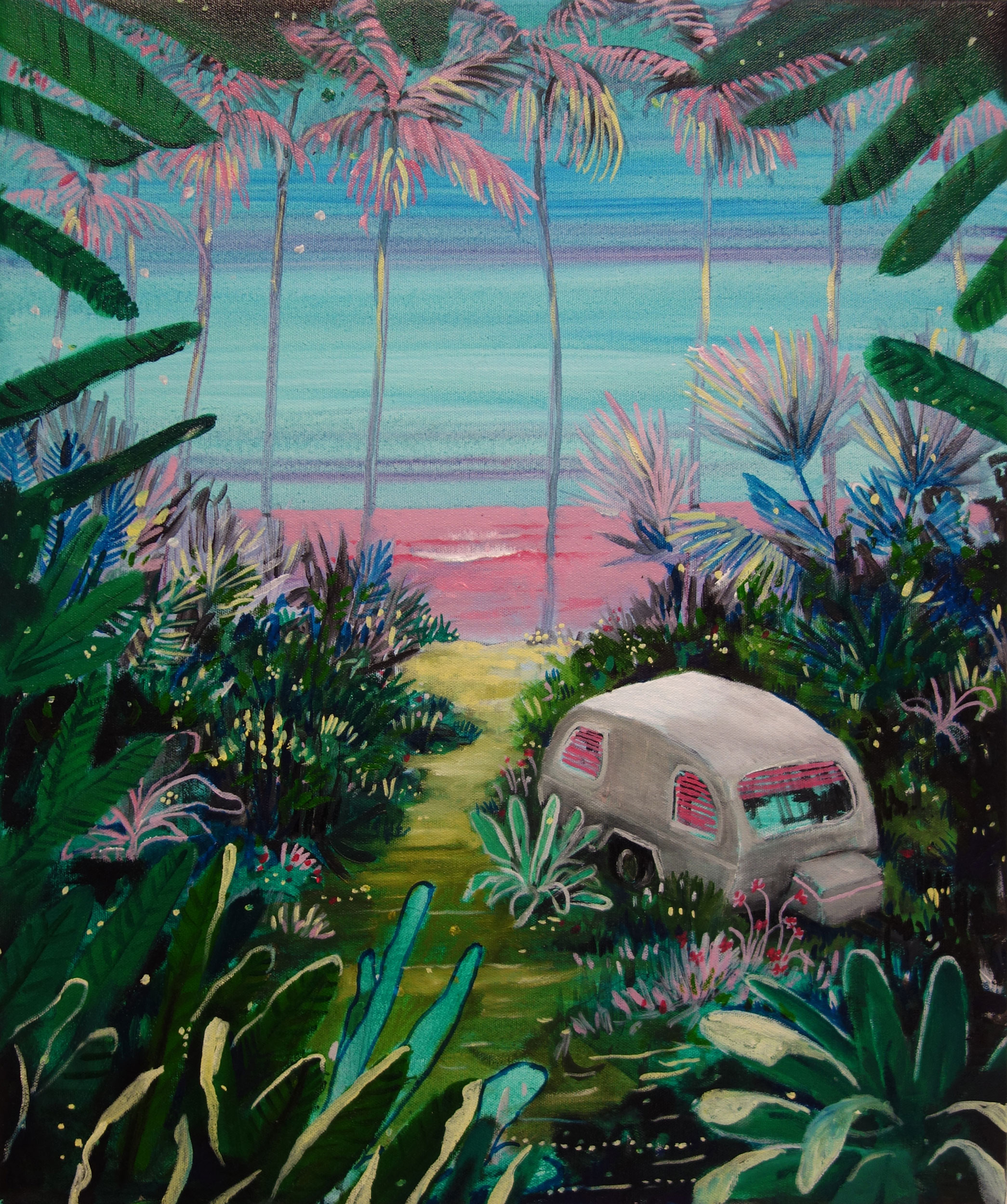 Caravan paradise II (in private collection)