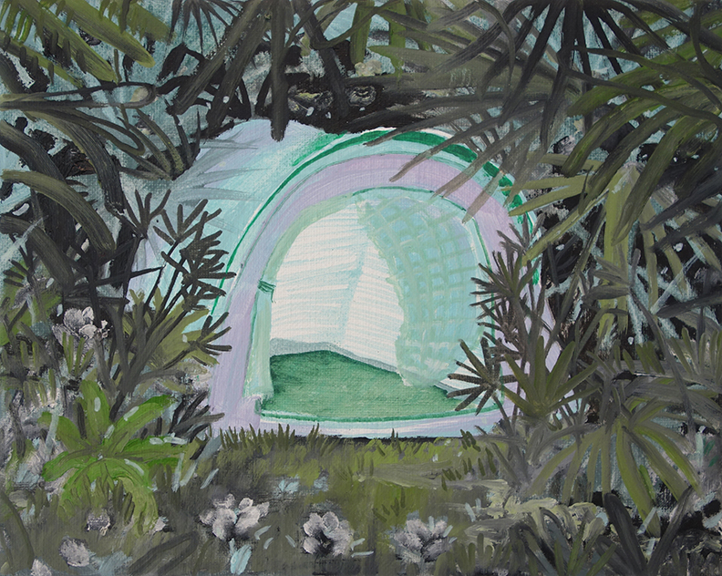 Tent (in private collection)