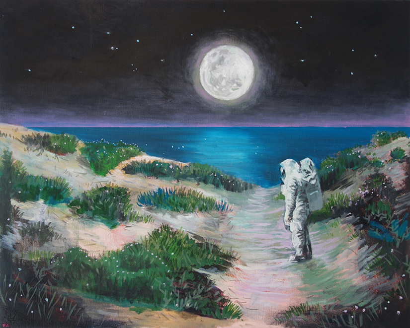 Astronaut (in private collection)