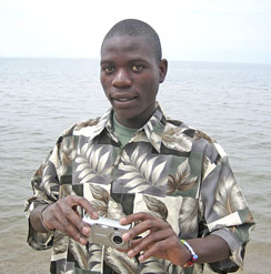 Dusabimana - Born 1985Dusabimana Jean Bosco arrived at the Imbabazi on July 13, 1996 at age 11 with his 8-year-old sister, Claudine Uwingabire. He is a brilliant student and has been either first or second in his class every trimester. In July of 2001,he passed the national exams for secondary school and was sent to the College Inyemeramitugo, where he was second in his class every trimester.For his 4th year he was sent to a school called ETAG to learn machinery and mechanics. He has an older brother who never went to school and lives with Sembagare, the Imbabazi Co-Director. His name is Kikingi.- Rosamond Carr