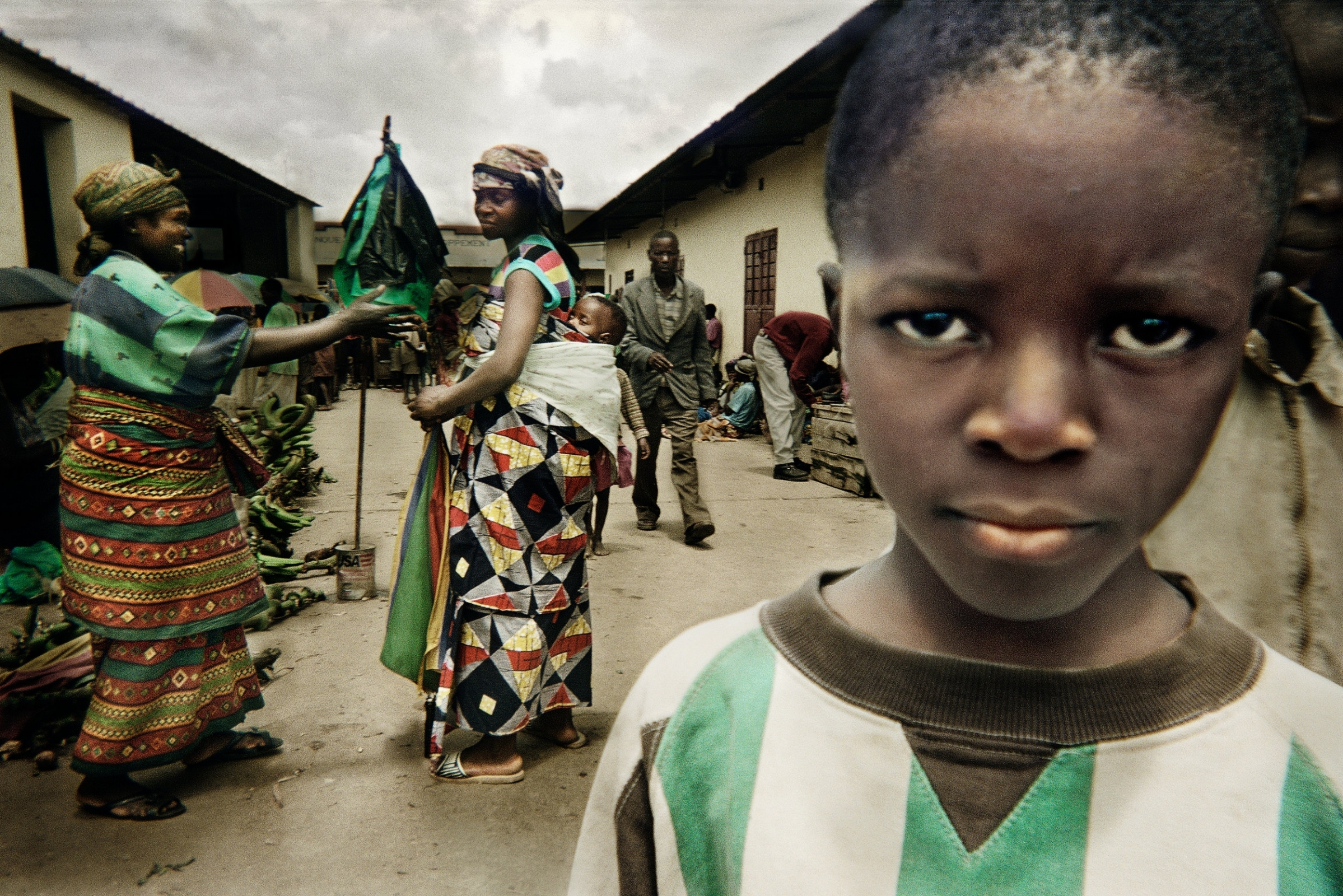 """Rwanda - Annual reoccurring photo workshops were held in Rwanda from 2000 until 2011 with 19 children or """"Camera Kids"""" participating from the Imbabazi Orphanage. See each child's portfolio here."""