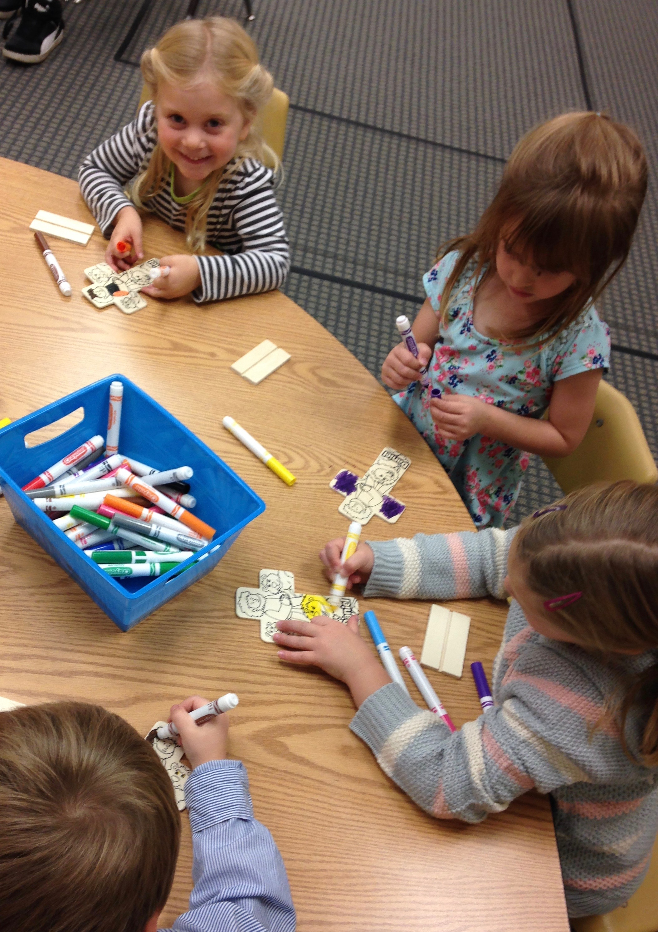 Younger kids Sunday school -