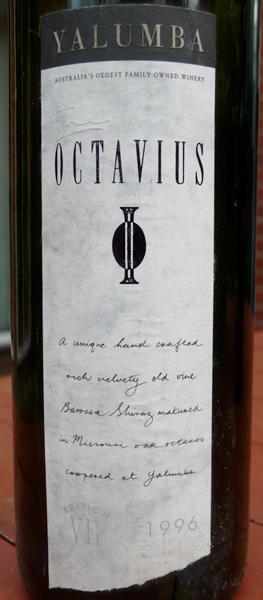 Yalumba, Octavius Shiraz 1996