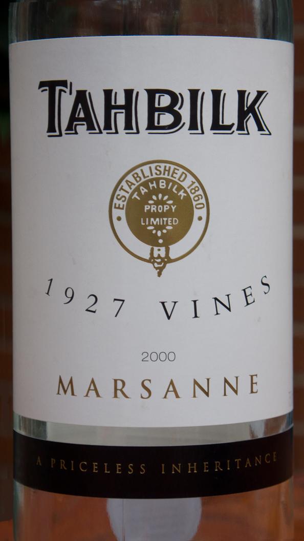 Tahbilk, 1927 Vines Marsanne 2000