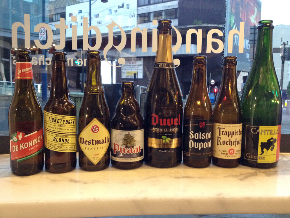 The Full Line-Up Of Beers