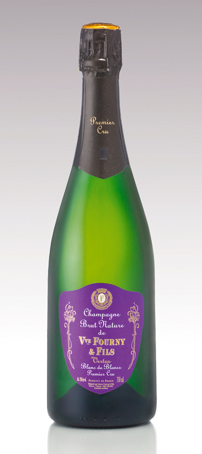 Champagne Veuve Fourny & Fils, Blanc de Blancs Premier Cru Brut Nature NV