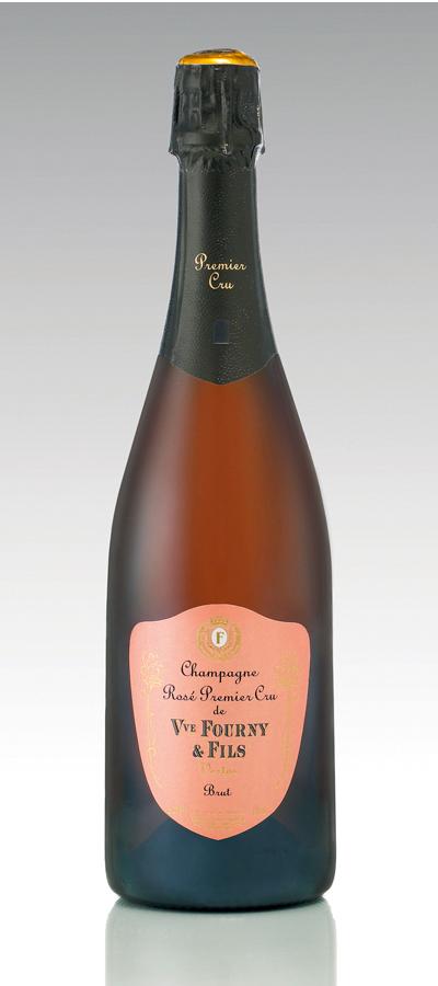 Champagne Veuve Fourny & Fils, Rose Premier Cru Brut NV