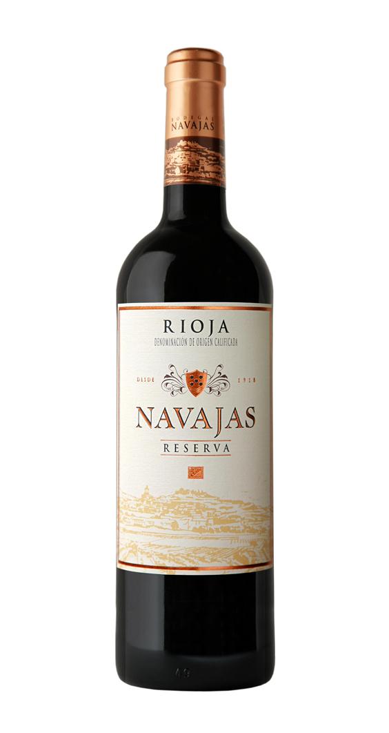 Bodegas Navajas, Rioja Tinto Reserva