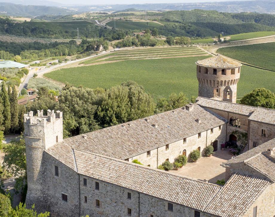 Marchesi Antinori's Castello della Sala estate in Umbria