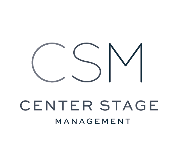EXCITED TO BEGIN WORKING WITH CENTER STAGE MANAGEMENT! -