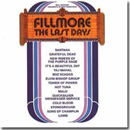 FILLMORE: THE LAST DAYS   1970 - 18 Songs