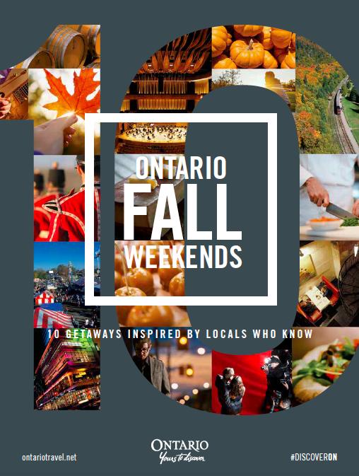 Ontario Tourism fall guide (inspirational)