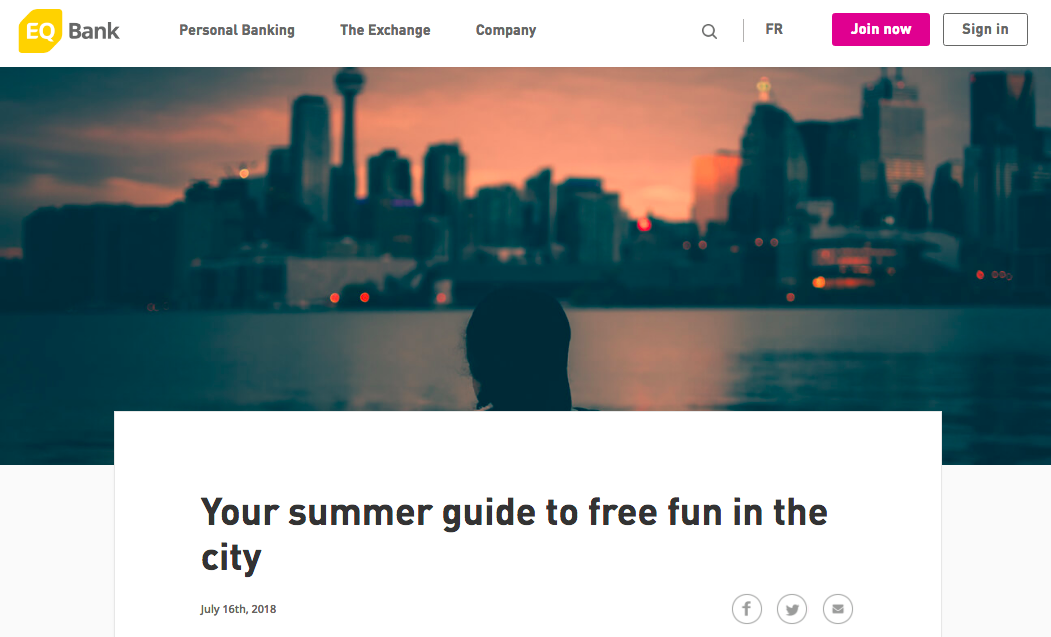 EQ Bank savings article (light tone)