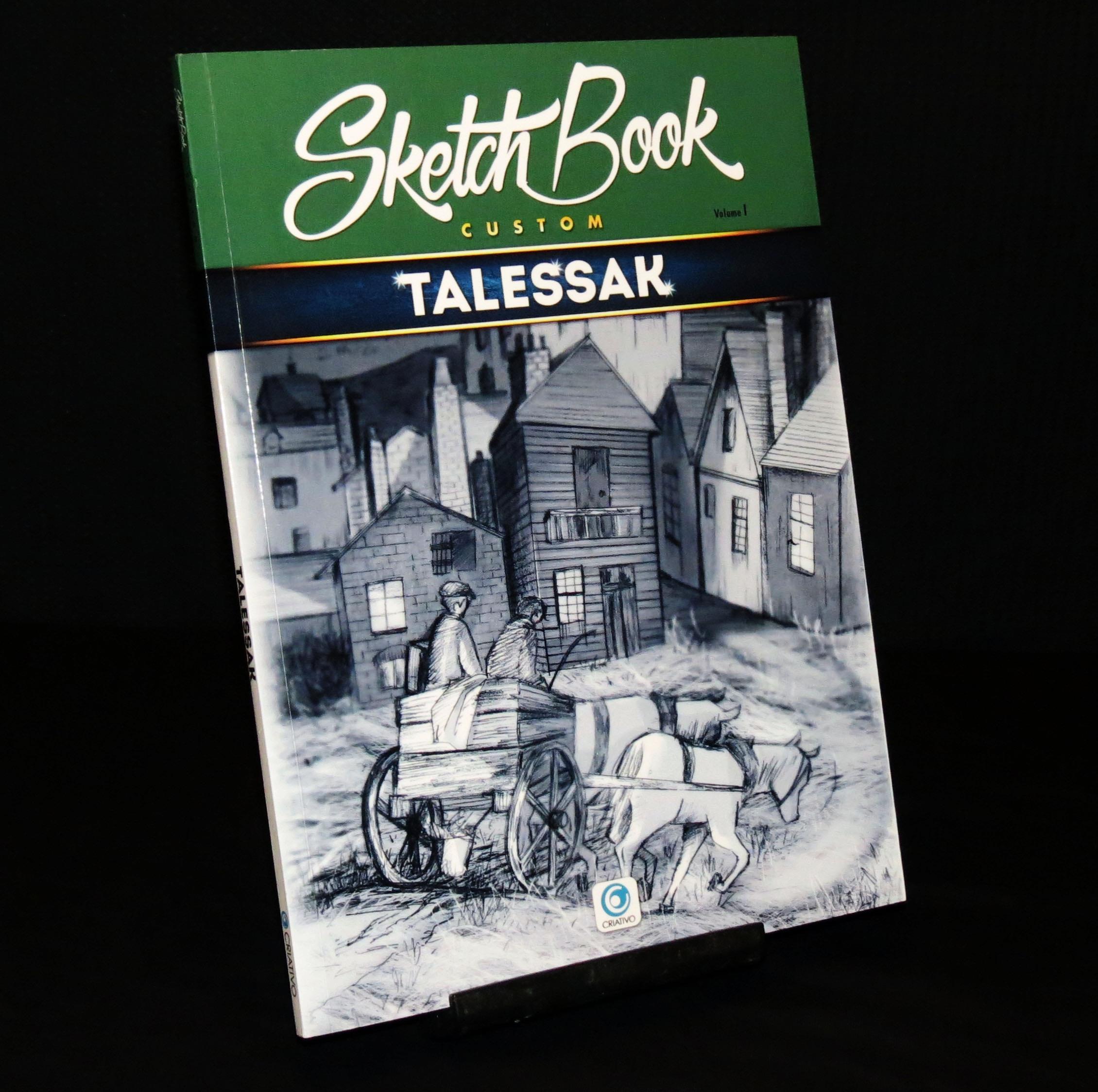 Scketchbook Custom Published by Criativo, 2017