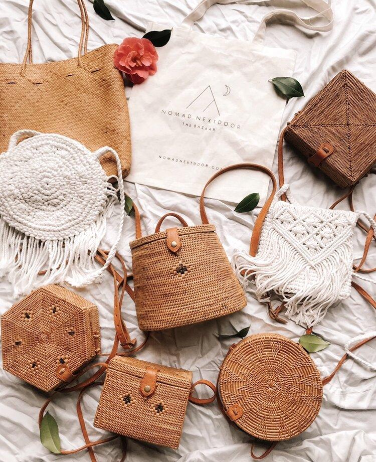 Bali Bag Selection, January 2019