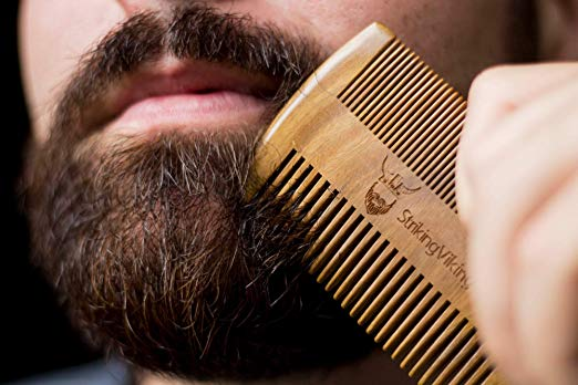 """Most men that I know with facial hair are very proud of it. This comb is so sleek looking.  My husband has actually """"stolen"""" one of my hair teasing brushes as his beard comb. It is this one  here ."""