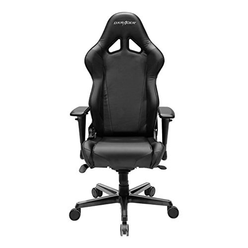 Is he a gamer? Or spend a lot of time at the computer? This gaming chair has an extra high back to help give extra support and it's a little more adjustable than other computer chairs out there. Comes in 8 different color options!