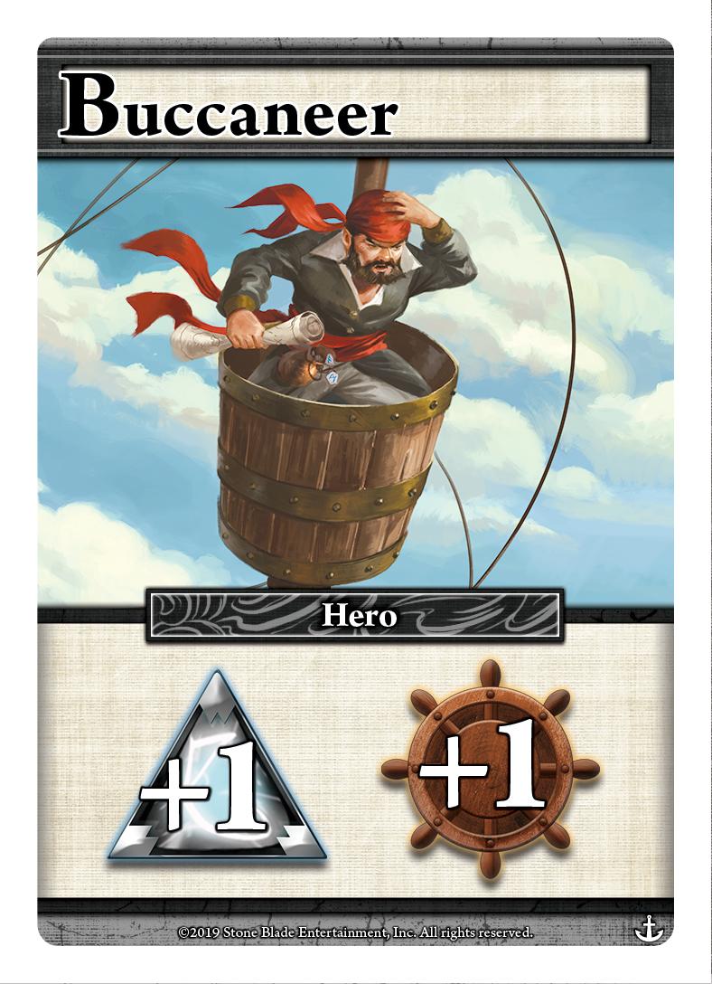 Buccaneer from Ascension Skulls & Sails