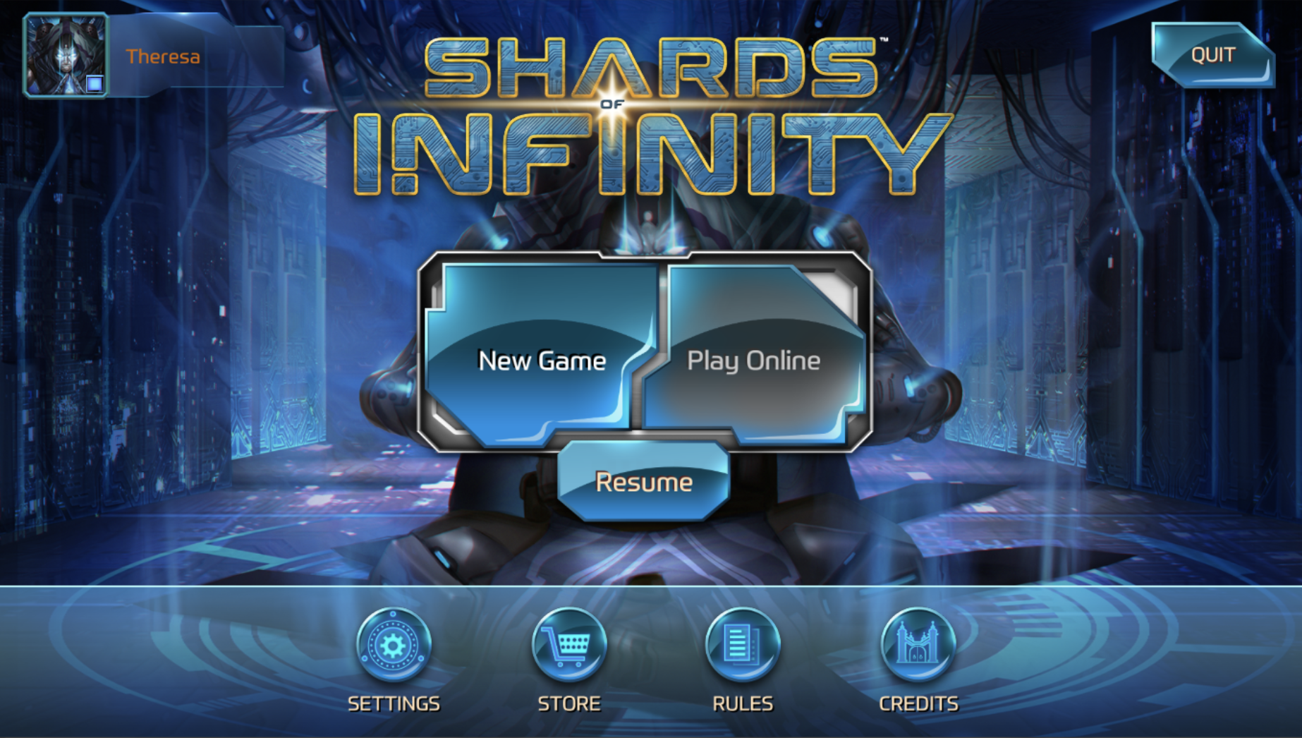 Shards of Infinity Online App
