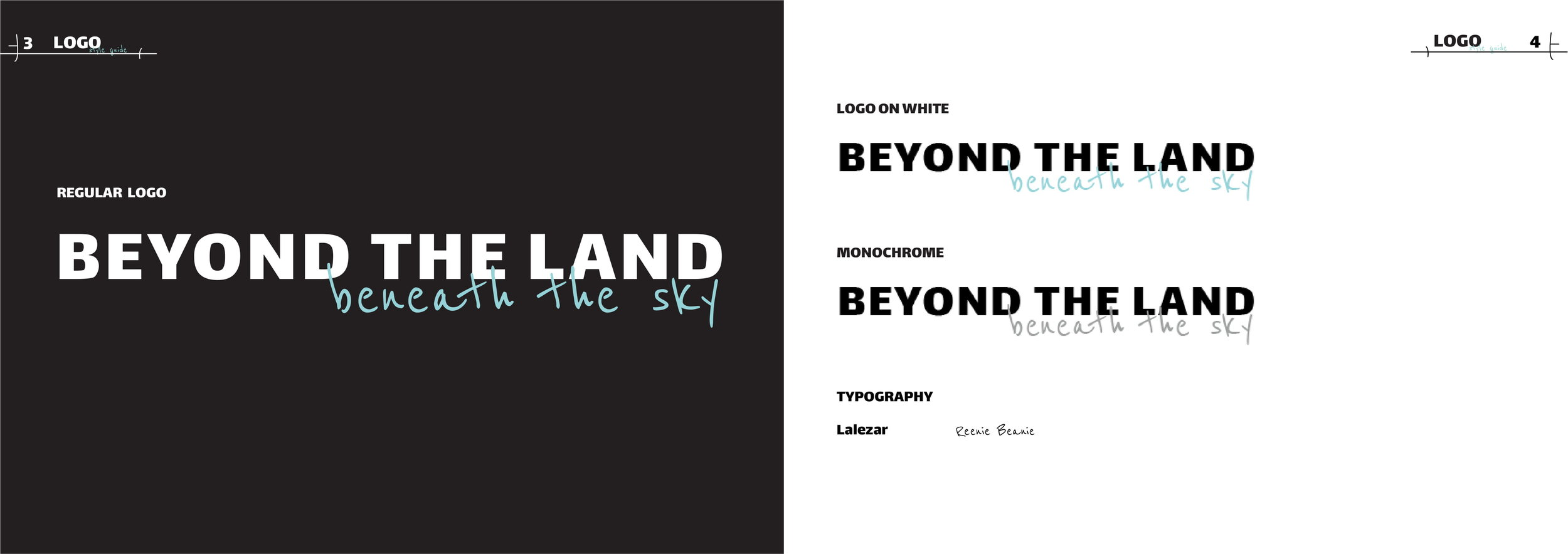 The bold sans serif Lalezar represents the heavy industries in Syracuse, while the calligraphic teal typeface, Reenie Beanie represents the unpolluted nature.