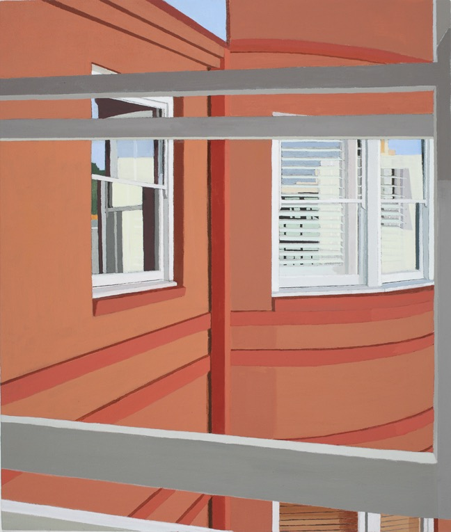 Afternoon Reflections, Acrylic on canvas, 74 x 62.5cm, 2014