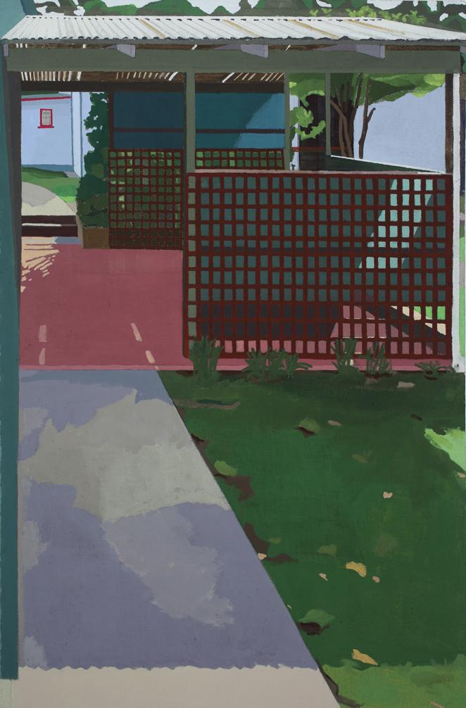 Wootton Bliss, Acrylic on linen, 85 x 59cm, 2018