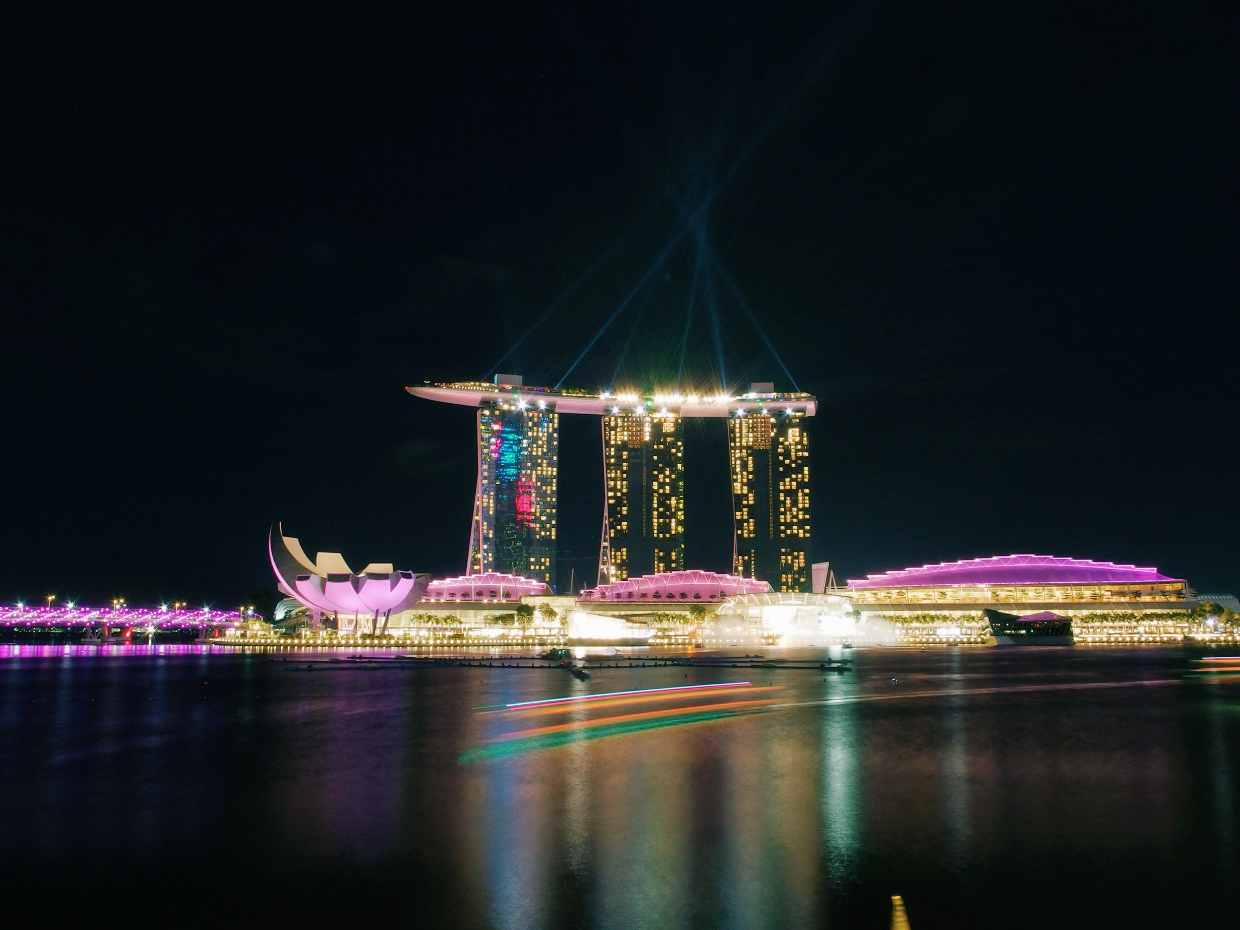 Night Lights in Singapore