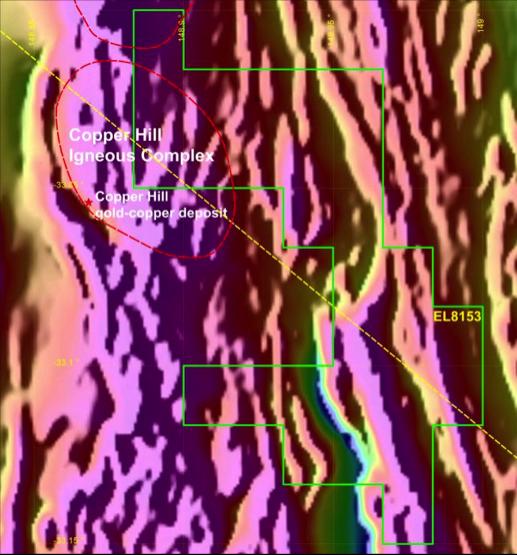 Figure 3a – TMI aeromagnetics