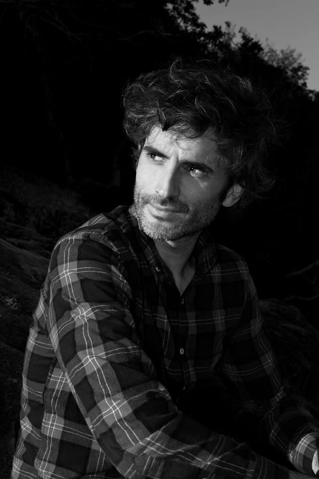 """""""David Barreiro"""". Fotografía de Olaya Pazos."""