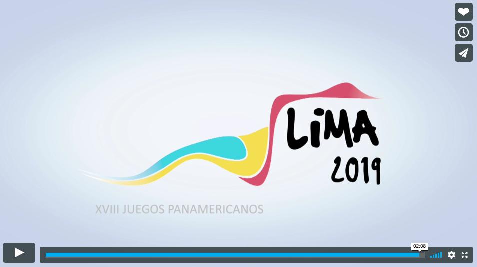 CAMPAÑA PROMOCIÓN JUEGOS PANAMERICANOS LIMA 2019 GUIONISTA