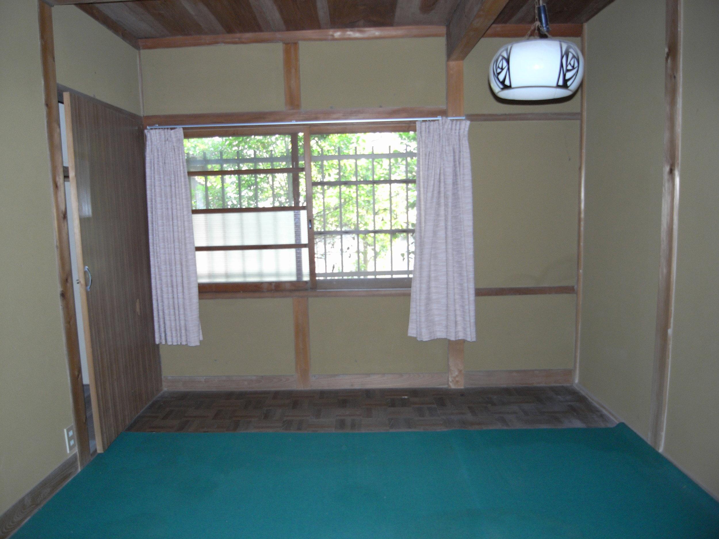 工事前母屋北側の部屋