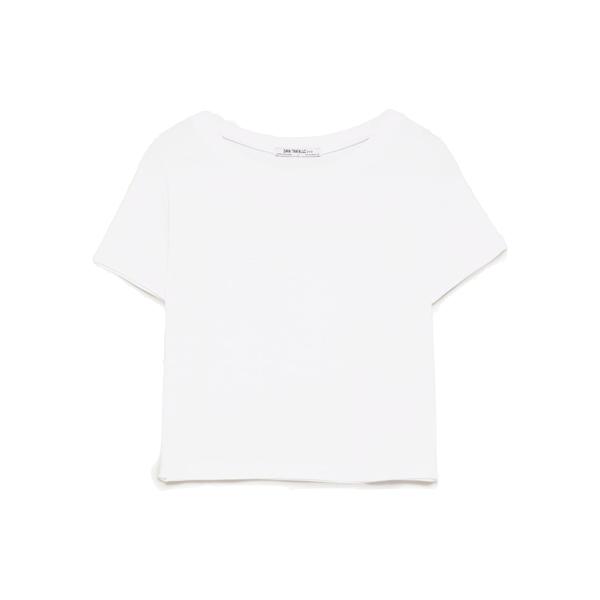 Cropped T-shirt, Zara