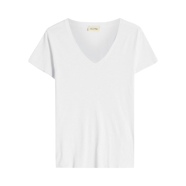 V Neck T-Shirt, American Vintage