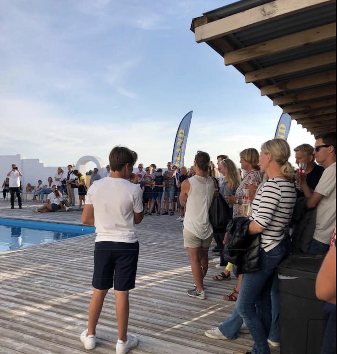 Bild från eventet på vår gård i Skåne