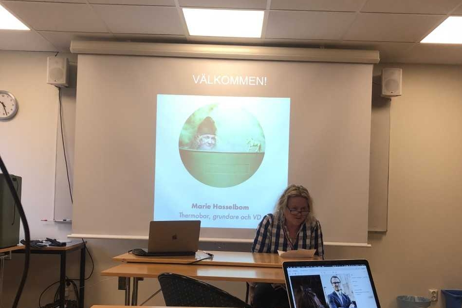 Marie berättar om sin resa med Thermobar