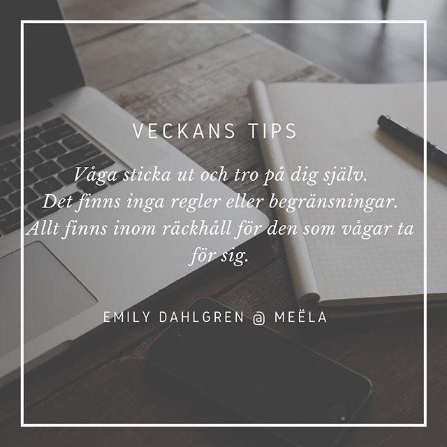 Emily Dahlgren, grundare av @meela.se står för veckans tips ✨ Meëla är en ny produkt på marknaden, designad för att förbättra vardagen för både häst och ryttare! #inspiration #entreprenör #tips