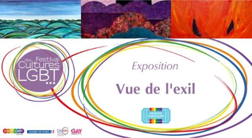 """Exposition et débat """"Vue de l'exil"""" à la mairie du Xeme Paris."""