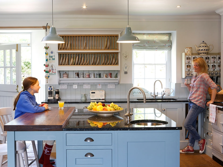 Handmade Farmhouse Kitchen -