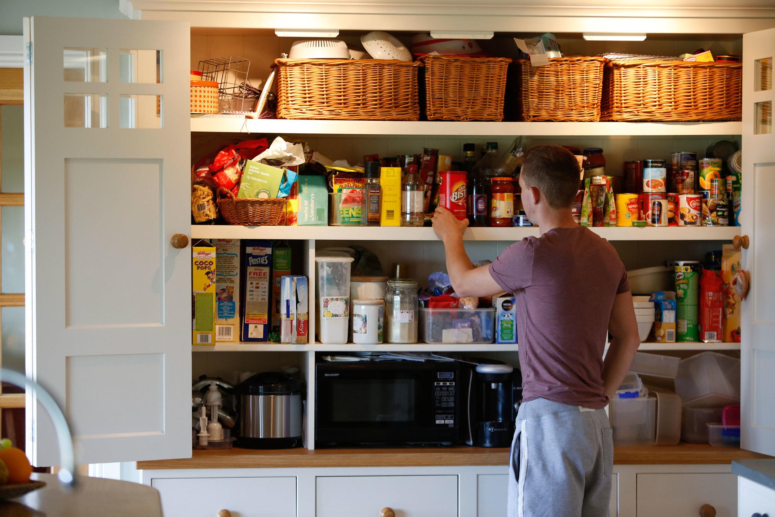 Bespoke Family Kitchen Cabinet