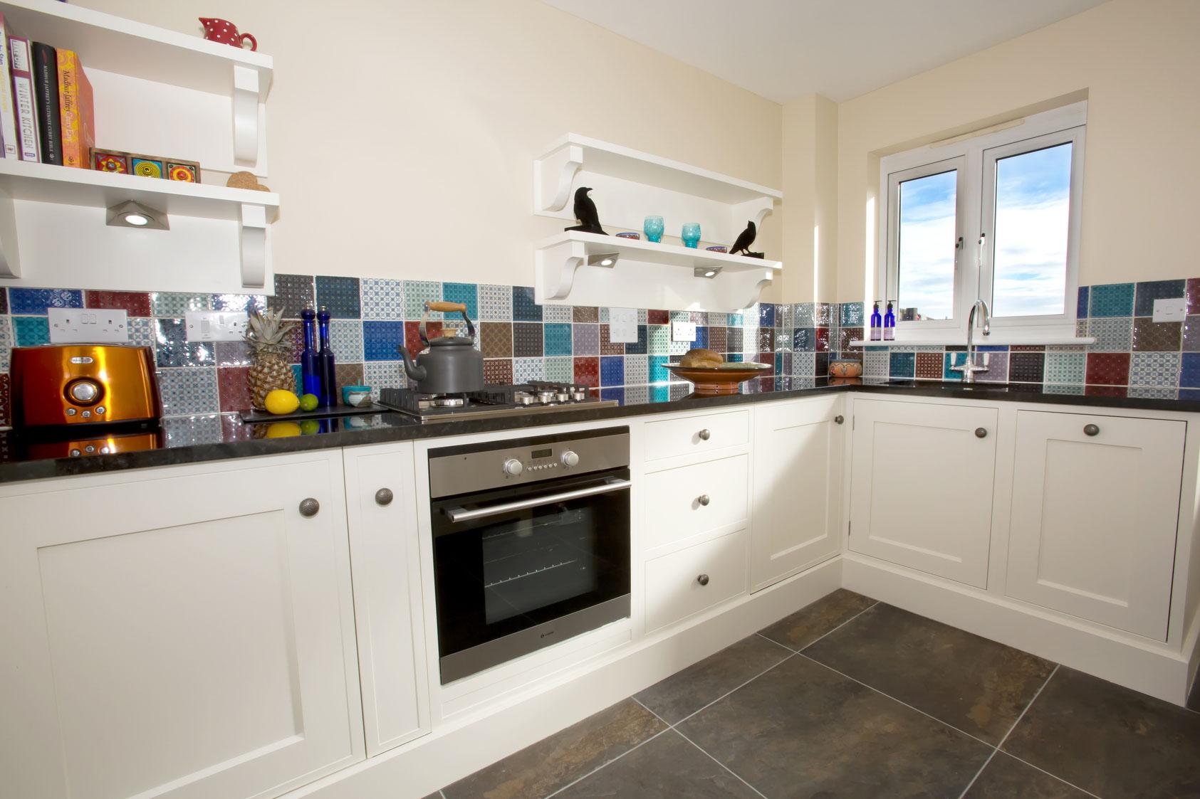 Small bespoke kitchen
