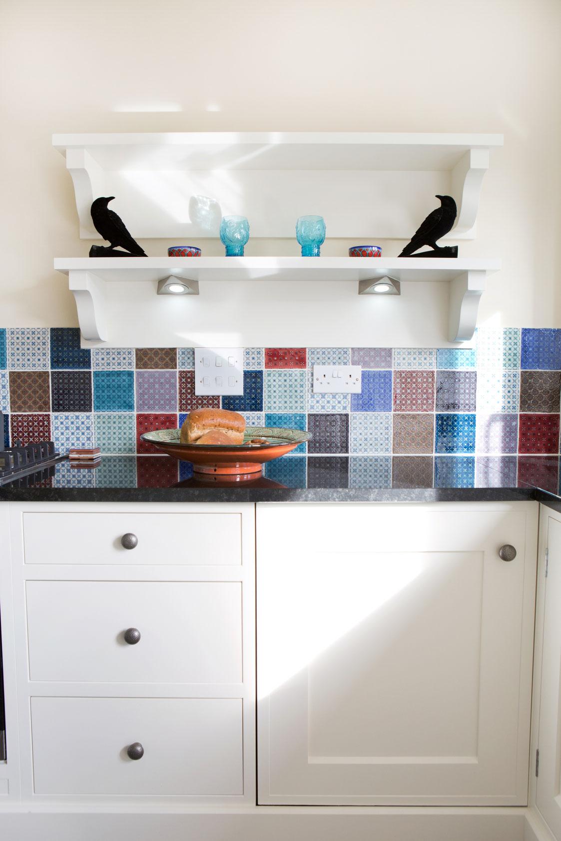 cosy bespoke kitchen detail