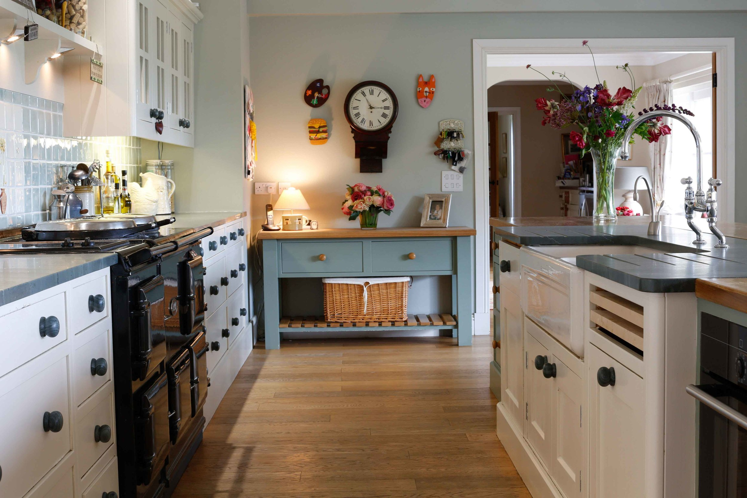 Countryside finished kitchen