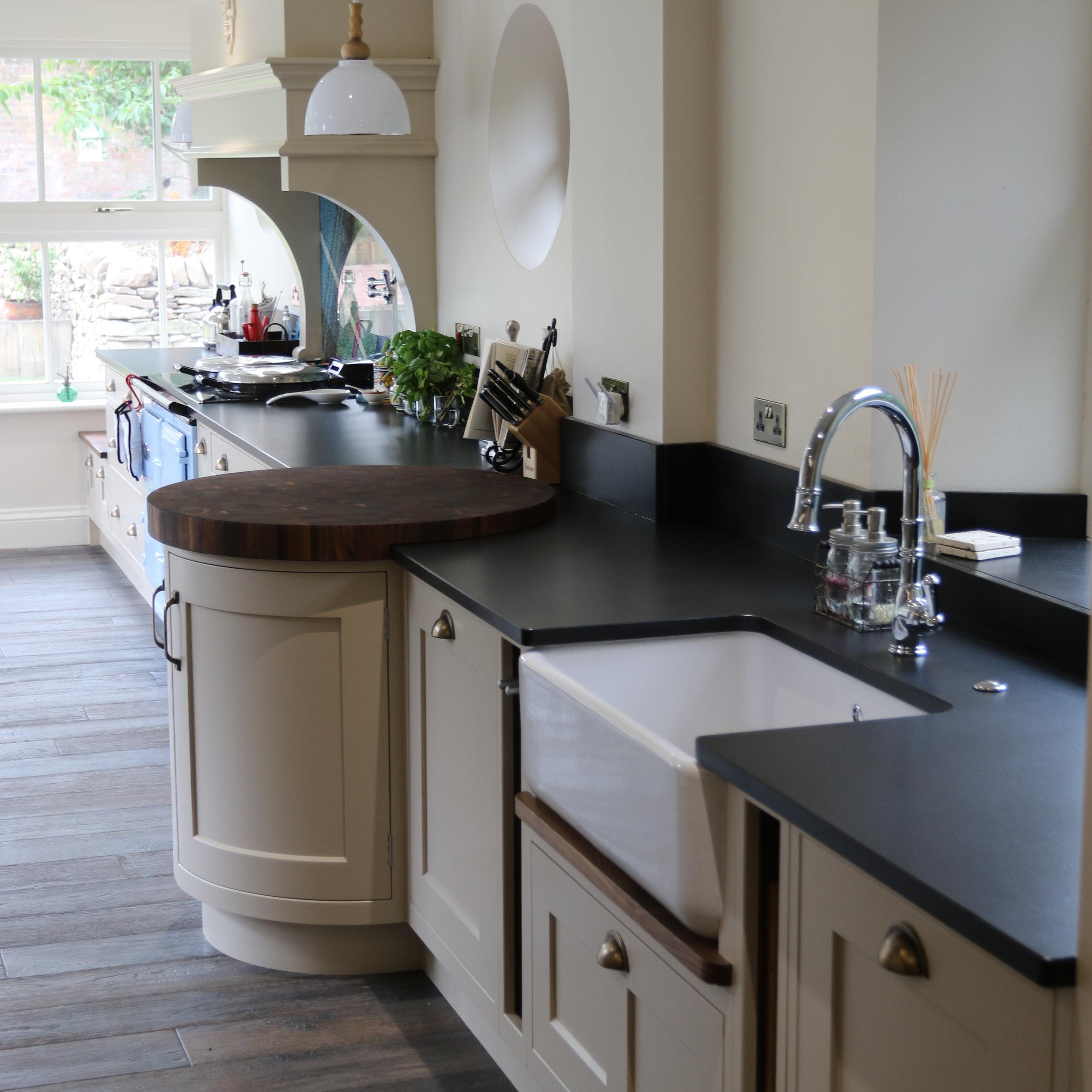 Beautiful Finished Kitchen in Melrose, Scotland